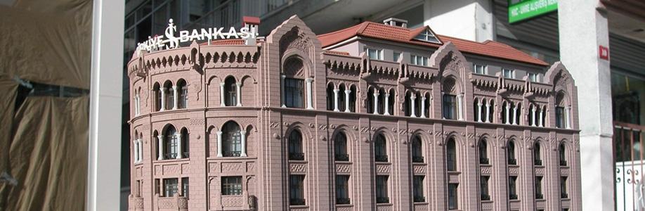 İş Bankası Ulus Binası Müze Sergi Maketi